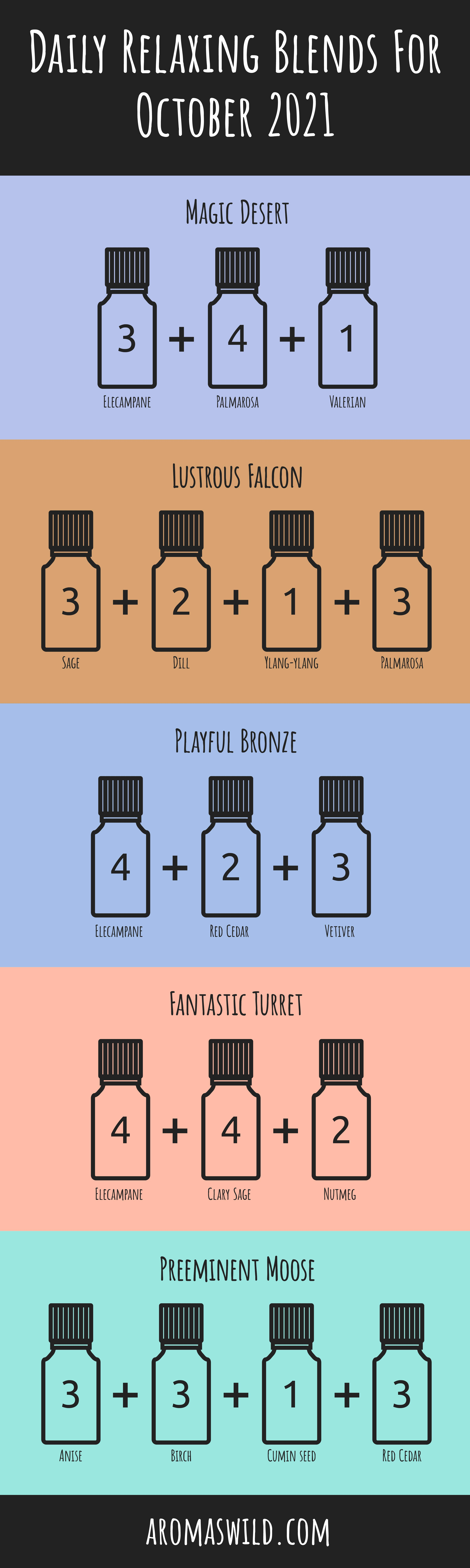 clean laundry diffuser blend – Daily Relaxing Blends For 20 October 2021
